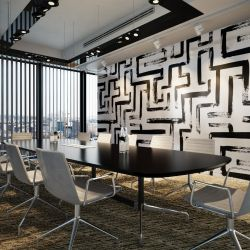 ink concept office wallpaper carpet